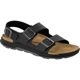 Birkenstock Milano Sandals Birko-Flor Regular Men, desert soil black